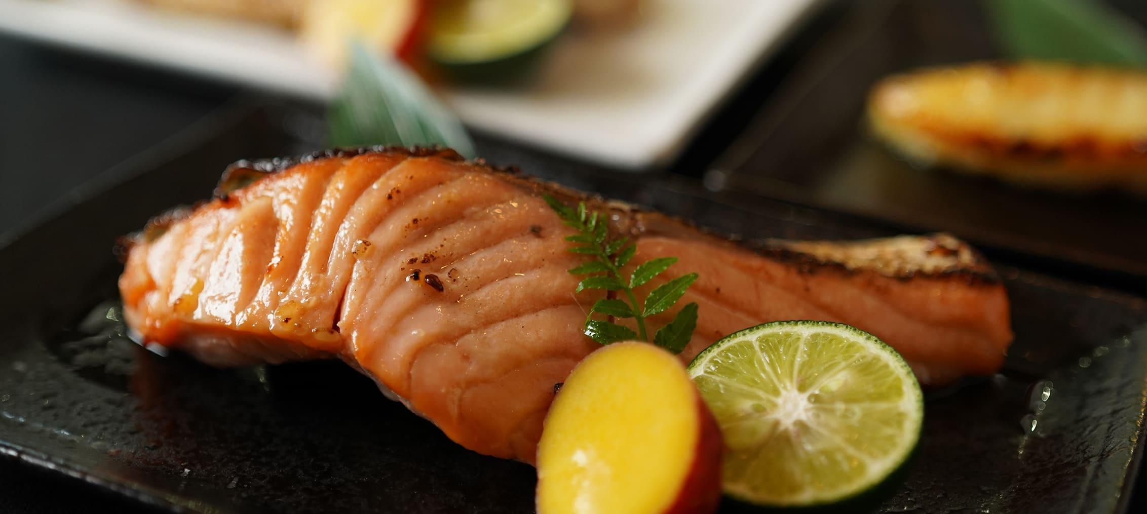 キングサーモン漬け魚